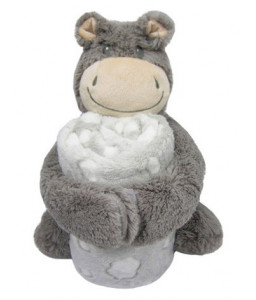 Kikka Boo Сет играчка с одеяло Hippo Снимка 1