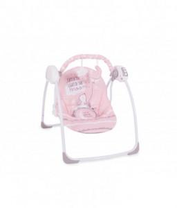 Kikka Boo Бебешка люлка Felice Pink Rabbit Снимка 1