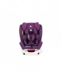 Kikka Boo Стол за кола 0-1-2-3 (0-36 кг) 4 Fix Purple Melange Снимка 1