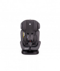 Kikka Boo Стол за кола 0-1-2-3 (0-36 кг) 4 Safe Grey Снимка 1