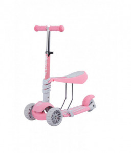 Kikka Boo Тротинетка 3 в 1 BonBon Pink Снимка 1