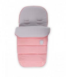 Kikka Boo Чувалче за количка Embroidered Baby Pink Снимка 1