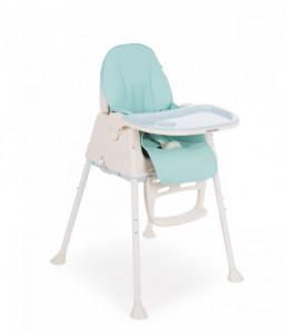 Kikka Boo Столче за хранене Creamy Blue Снимка 1
