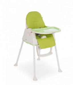 Kikka Boo Столче за хранене Creamy Green Снимка 1