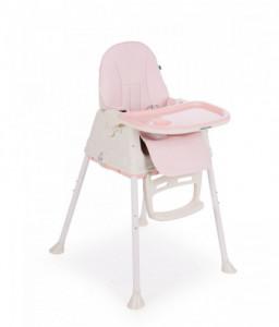 Kikka Boo Столче за хранене Creamy Pink Снимка 1