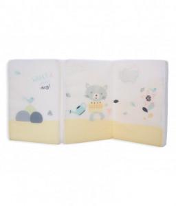 Kikka Boo Сгъваем матрак 60/120/5 cm Cat Lovely Day Снимка 1