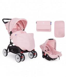 Kikka Boo Комбинирана количка 2 в 1 Airy Pink Снимка 1
