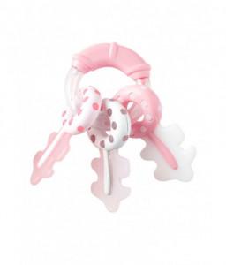 Kikka Boo Дрънкалка Keys Розова Снимка 1