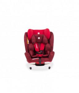 Kikka Boo Стол за кола 0-1-2-3 (0-36 кг) 4 Fix Red Melange Снимка 1