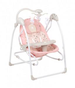 Kikka Boo Бебешка люлка Mia Stella Pink Снимка 1