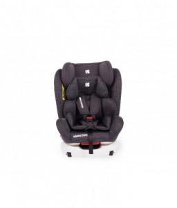 Kikka Boo Стол за кола 0-1-2-3 (0-36 кг) 4 Fix Grey Melange Снимка 1
