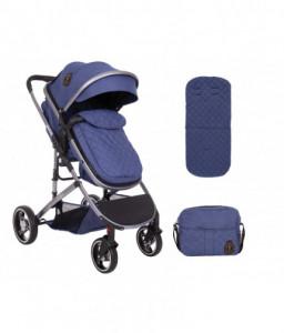 Kikka Boo Комбинирана количка 2 в 1 Tiara Dark Blue Снимка 1