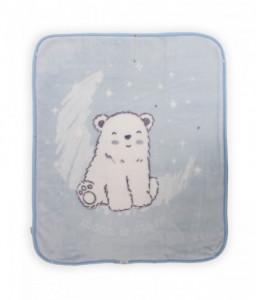 Kikka Boo Порт бебе Blue Polar Bear Снимка 1