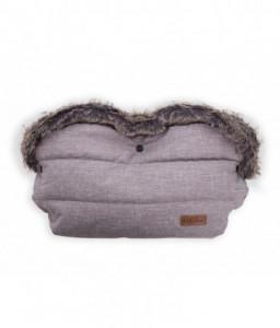 Kikka Boo Ръкавица за количка Luxury Melange Cream Снимка 1