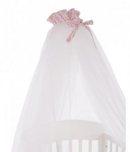 Kikka Boo Балдахин тюл Pink Bunny 200/540 Снимка 1