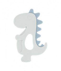 Kikka Boo Чесалка силиконова Dinosaur Синя Снимка 1
