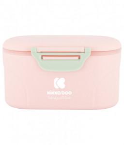 Kikka Boo Кутия за съхранение на сухо мляко с лъжичка 130гр. Розова Снимка 1
