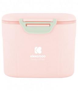 Kikka Boo Кутия за съхранение на сухо мляко с лъжичка 160гр. Розова Снимка 1