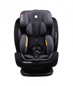 Kikka Boo Стол за кола 0-1-2-3 (0-36 кг) Multistage Black 2020 Снимка 1