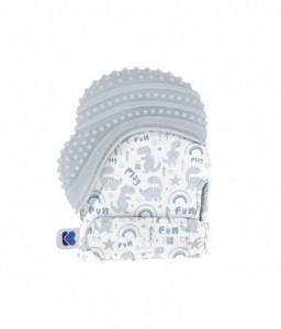 Kikka Boo Ръкавица за венци и зъби Dinosaur Синя Снимка 1