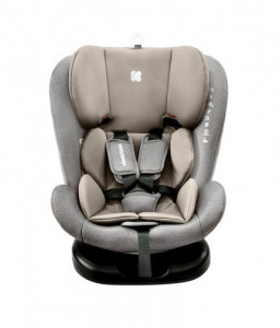 Kikka Boo Стол за кола 0-1-2-3 (0-36 кг) Cruz Light Grey 2020 Снимка 1