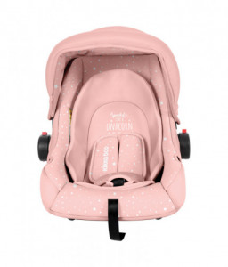Kikka Boo Стол за кола 0+ (0-13 кг) Little Traveler Pink Unicorn 2020 Снимка 1