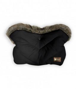 Kikka Boo Ръкавица за количка Luxury Fur Black Снимка 1