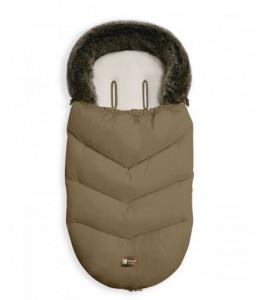 Kikka Boo Чувалче за количка Luxury Fur Beige Снимка 1