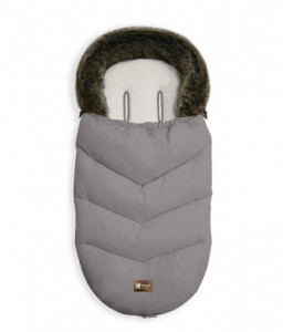 Kikka Boo Чувалче за количка Luxury Fur Grey Снимка 1