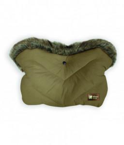 Kikka Boo Ръкавица за количка Luxury Fur Beige Снимка 1