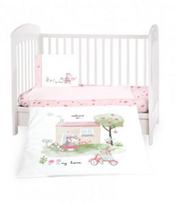 Kikka Boo Бебешки спален комплект 3 части My Home Снимка 1