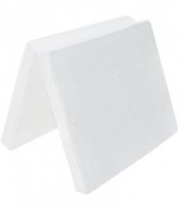 Kikka Boo Сгъваем матрак мини 45/80/5 cm White Velvet Снимка 1
