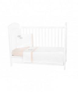 Kikka Boo Бебешки спален комплект 3 части EU Style 60/120 с бродерия Dreamy Flight Снимка 1