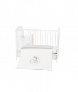 Kikka Boo Бебешки спален комплект 5 части бродерия Dreamy Flight Снимка 1