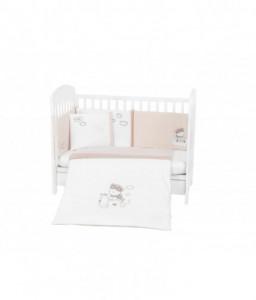 Kikka Boo Бебешки спален комплект 6 части 70/140 с бродерия Dreamy Flight Снимка 1