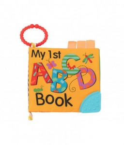 Kikka Boo Образователна текстилна книжка с чесалка ABC Снимка 1