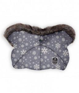 Kikka Boo Ръкавица за количка Shiny Nylon Snow Flakes Снимка 1