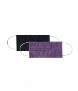 Kikka Boo Сет 2бр дамска маска правоъгълна 18см Purple & Black Снимка 1