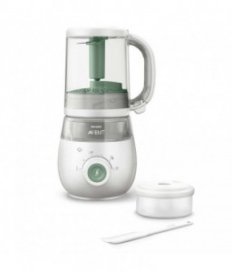 Philips Avent Комбиниран уред за здравословна бебешка храна 4 в 1 Снимка 1