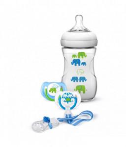 Philips AVENT Подаръчен комплект – дизайн слончета