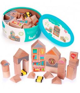 Lucy&Leo Конструктор от дървени блокчета