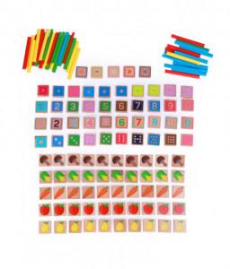 Lucy&Leo Математика - образователен комплект от дърво