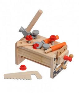 """Lucy&Leo Дървено сандъче с инструменти """"Малък майстор"""""""