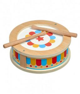 Lucy&Leo Дървена музикална играчка Lucy&Leo - Барабан Снимка 1