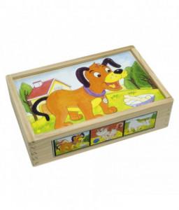 Pino Дървени кубчета Домашни животни