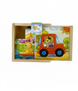 Pino Дървени кубчета Веселите животни