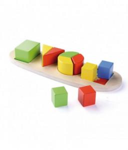 Pino Дървена игра Pino - Геометрични форми