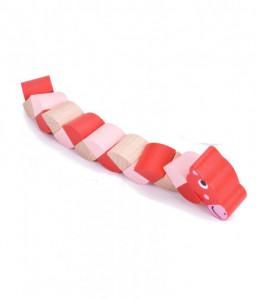 Pino Дървени животни със сгъващи се елементи Pino Снимка 1