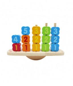 Pino Дървена дидактическа играчка Pino - 3 в 1