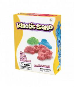 Relevant Play Кинетичен пясък - 3 цвята (Зелен